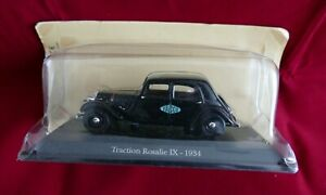 Voiture 1/43 CITROEN Traction rosalie IX 1934 - Toy car - Neuf sous blister