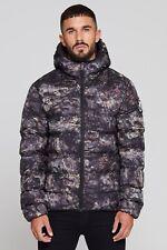 Mens Good For Nothing Romero Element Rock Camo Puffer Jacket (GFN6) RRP £69.99