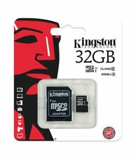 32GB Kingston Micro SD 32GB SDHC memory Card Class-10 with SD card Adapter UK