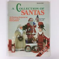 Collection of Santas decorative tole painting pattern book Christmas Edwards