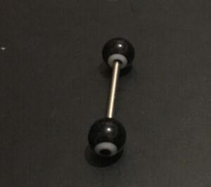 Tongue Bar Nipple Bar Straight Barbells Body Piercing Jewelley Surgical Steel