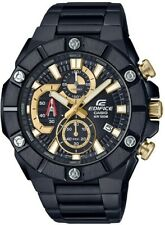 Casio Edifice Chronograph Black x Gold Series Men's PVD Stainless Steel Watch