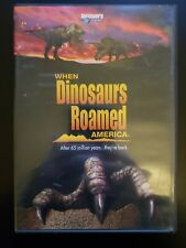 When Dinosaurs Roamed America RARE DISCOVERY CHANNEL DVD BUY 2 GET 1 FREE