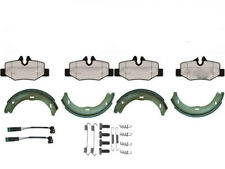 MERCEDES VITO W639 REAR BRAKE PADS WITH HAND BRAKE SHOES FITTING KIT WEAR LEADS