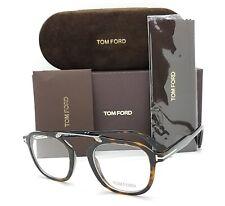 NEW Tom Ford RX Glasses Frame Havana TF5495/V 052 48mm AUTHENTIC FT5495 Squared