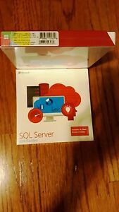 Microsoft SQL Server 2016 Standard,SKU 228-10602,10 CALs,Sealed Retail Box,Full