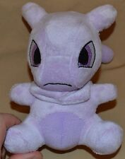 "7"" Mewtwo # 150 Pokemon Center Plush Dolls Toys Stuffed Animals 2012 Psychic Mew"