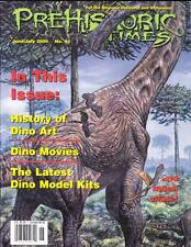 THE PREHISTORIC TIMES #42 - magazine of Dinosaur collecting, David Allen tribute
