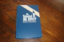 The Talented Mr. Ripley - Patricia Highsmith Hc 1st ImPress Mystery Ed. 2000