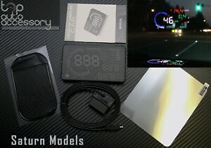 """HUD Head Up Display 5.5"""" OBD II 2 Speed RPM Warning System for all models Saturn"""