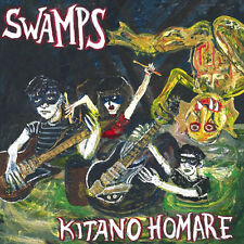 SWAMPS Kitano Homare LP . garage punk trash oblivians gories cramps dirtys crypt