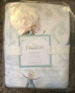 Pottery Barn Kids Disney Frozen Sheet Set NWT TWIN