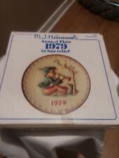 New in Box M. J. Hummel 9th Annual 1979 Collector Plate Goebel Singing Lessons