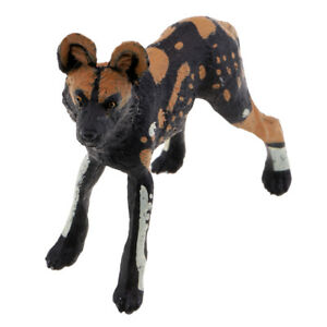 Animal Models Toy Kids Toy Plastic Wild Animal African Wild Dog Models Toys
