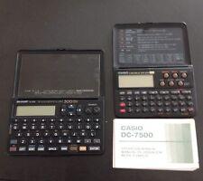 Sharp El 6190. Casio DC7500