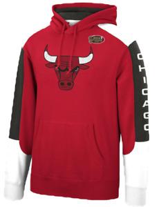 Chicago Bulls Mitchell & Ness NBA Fusion Fleece Hoody