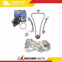 Timing Chain Kit Water Oil Pump Fit 12-16 Lexus ES300H Toyota Hybrid 2.5L 2ARFE