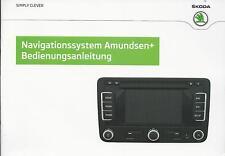 SKODA    Navigationsystem   Amundsen    2014  Bedienungsanleitung  Handbuch  RN