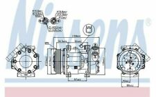 NISSENS Kompressor 12V für FORD FOCUS 89336 - Mister Auto Autoteile