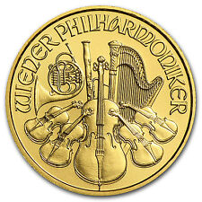 2013 1/10 oz Gold Austrian Philharmonic Coin