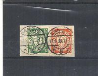 Danzig, Gdansk 1932 Michelnummern: 193 - 194 D y, gestempelt o, Katalogwert € 25