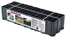 Grid grass ground and drive stabilisation reinforcement 2M² Retail Pack Black
