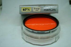 MARUMI FILTER Orange YA2 67mm