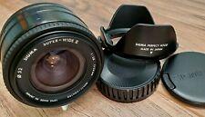 SIGMA AF for SONY MINOLTA 24mm f2.8 SUPER-WIDE II MACRO  JAPAN GREAT-