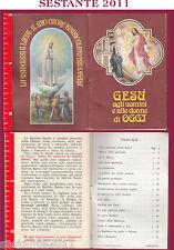 762 SANTINO HOLY CARD LIBRICINO PREGHIERE GESù AGLI UOMINI E DONNE DI OGGI