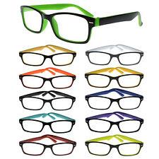 Modische Lesebrille Damen/Herren verschiedene Farben Dioptrien wählbar Brille