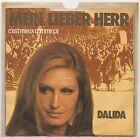 "SP 7"" - DALIDA - Mein lieber herr (Le Parrain) - EX/VG+ - Sonopresse IS 45 722"