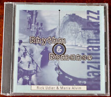 RICK UDLER & MARIA ALVIM RHYTHM & ROMANCE CD MALANDRO (1996) USA SEALED JAZZ