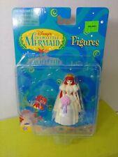 Disney The Little Mermaid Figures Mattel Ariel Bride & Sebastian Toy 65918 New
