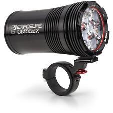 Exposure Six Pack Mk9 Front Light Black - Mountain Bike / Enduro / Off road