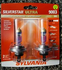 Sylvania SilverStar Ultra 9003 Dual Pack Halogen Headlights Brand New/Sealed!