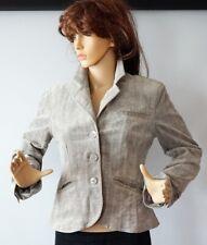 Next Petite Grey Velvet Women`s Suit Jacket Size-8 Used Great Condition