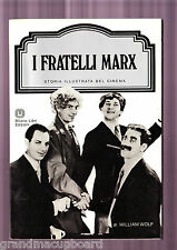 I FRATELLI MARX Milano Libri Marx Bros Pyramid Illustrated History Movies OOP PB