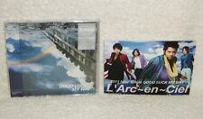 L'Arc~en~Ciel Good Luck My Way Taiwan CD+DVD+Postcard