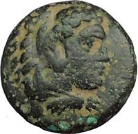 Greek city of ERYTHRAI in IONIA 330BC Hercules Bow Club Ancient Coin i34328 Rare