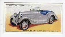 (Jr037-100) Players,Motor Cars ,Rapier Four-Seated Sports Tourer,1936 #32