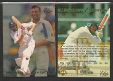 MICHAEL ATHERTON 1995 FUTERA CRICKET ASHES ELITE CARD No 17
