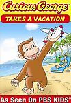 Curious George Takes a Vacation and Discovers New Things! (DVD, New, 2008)