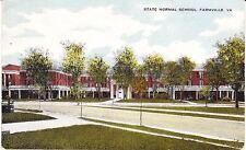 c.1910 FARMVILLE, VA, STATE NORMAL SCHOOL POSTCARD