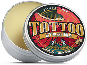 Premium Tattoo Aftercare Balm. Shea Butter, Teatree oil, Beeswax, Eucalyptus oil