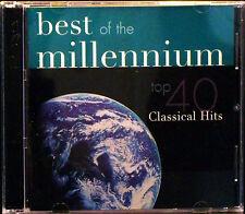 Best of the Millennium: Top 40 Classical Hits (CD, Feb-2000, 2 Discs, PolyGram)
