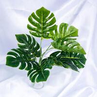 High Simulation Plant Artificial Foliage Decoration Fake Leaf Office Home
