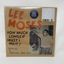 Lee Moses - How Much Longer Must I Wait Vinyl Record Limited Red Color Variant