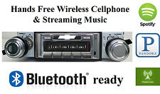 67-68 Impala Bel Air Caprice AM FM Bluetooth New Stereo Radio iPod USB Aux  300w