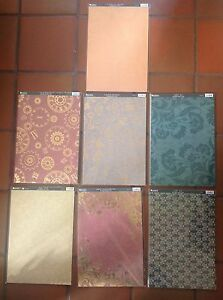 Kanban Crafts A4 Background Card    7 designs available   Pks of 10   brand new