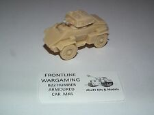 WWII BRITISH HUMBER ARMORED CAR MK VI RESIN MODEL KIT - B22